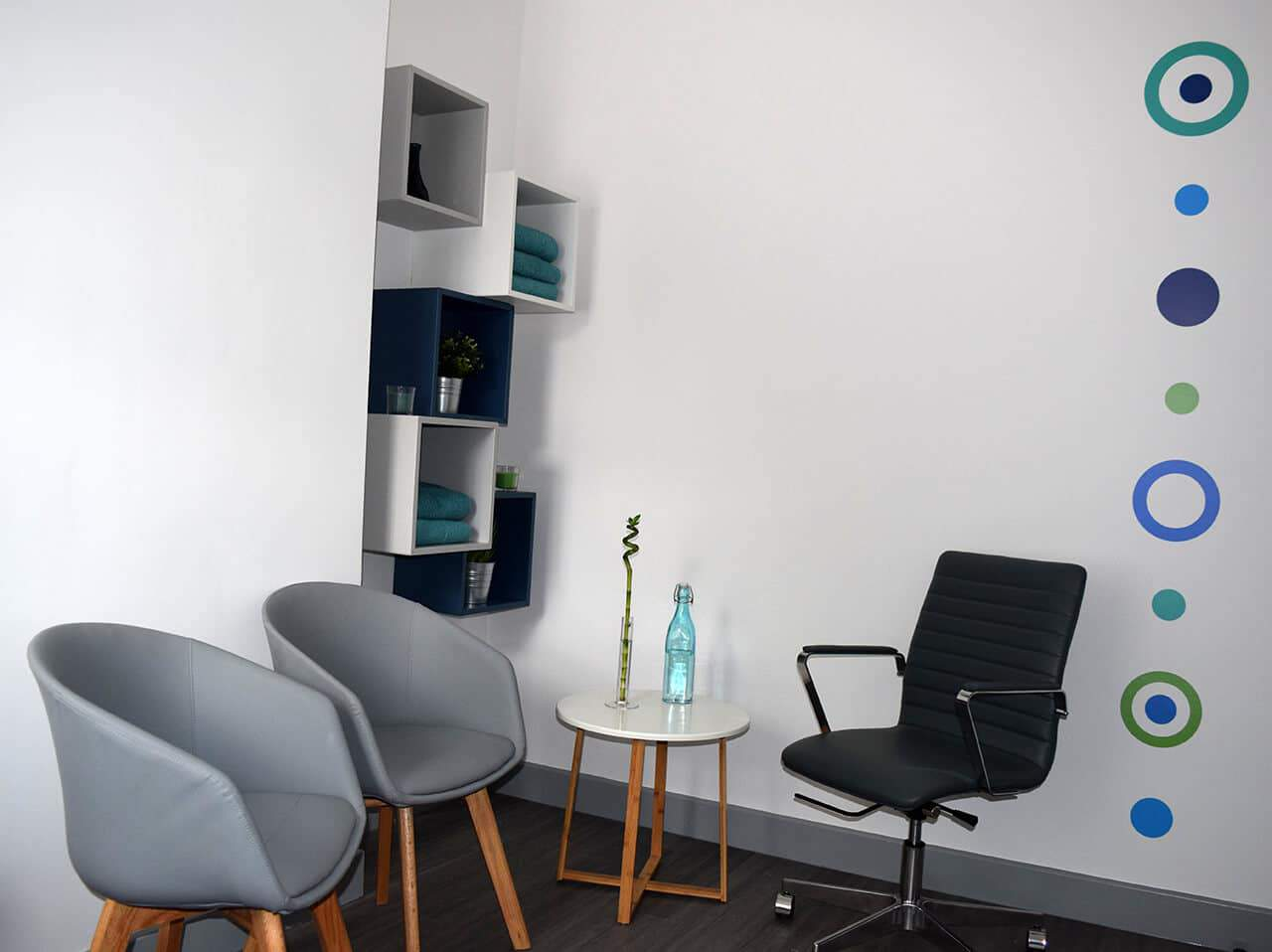 Counselling room at Health Space 307